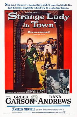 Strange Lady In Town, Us Poster, Greer Art Print by Everett