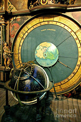 Orrery Photograph - Strasbourg Astronomical Clock by Babak Tafreshi