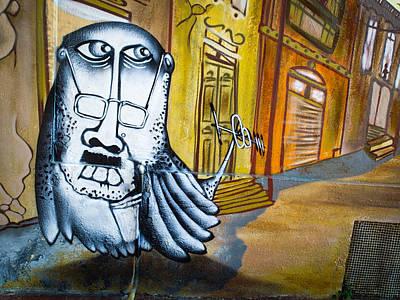 Street Art Valparaiso Art Print