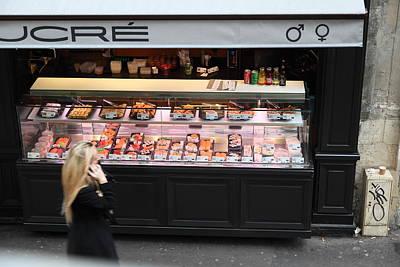 Shops Photograph - Street Scenes - Paris France - 011338 by DC Photographer