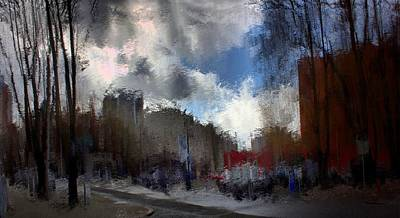 Streetlights 2 Art Print by Terence Morrissey