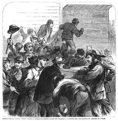 Striking Coal Miners, 1871 Art Print by Granger