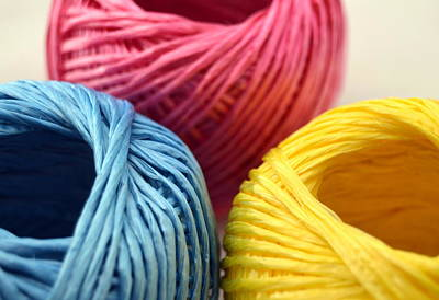 Photograph - String In Colors by Blanchi Costela