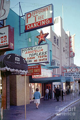 1-war Is Hell Royalty Free Images - Strip Clubs on Broadway Street the Barbary Coast San Francisco 1 Royalty-Free Image by Wernher Krutein