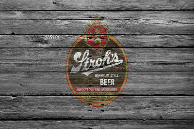 Hop Photograph - Strohs Beer by Joe Hamilton