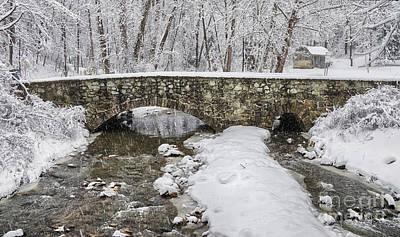 Struble Trail Bridge  Print by Jack Paolini