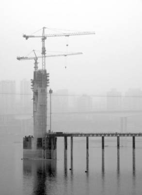 Photograph - Structures by Valentino Visentini