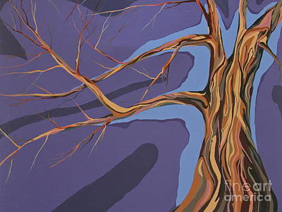 Struggling Tree Original by Marie Spence
