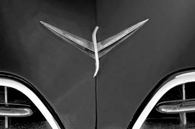 Photograph - Studebaker Hood Emblem by Jill Reger