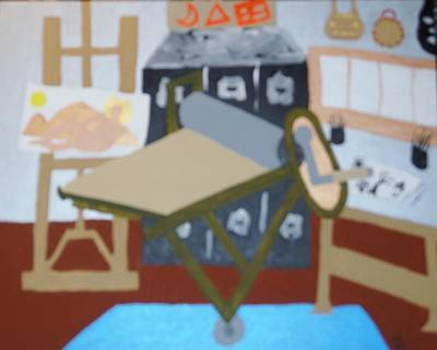 Painting - Studio by Erika Chamberlin