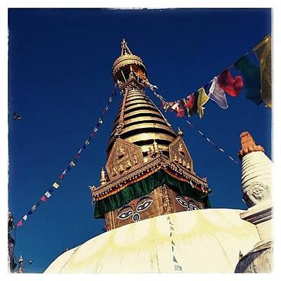 Architecturelovers Photograph - Stupa Swayambhunath by Raimond Klavins