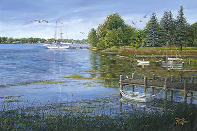 Painting - Sturgeon Bay by Doug Kreuger