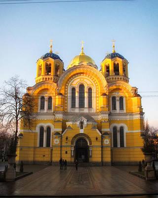 Kiev Photograph - St.vladimir's Cathedral by Brian Orlovich