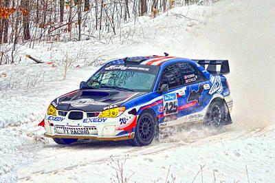 Subaru Rally Photograph - Subaru Car 425 by Rick Jackson