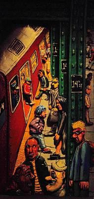 Subway Art Print by Rob Hans