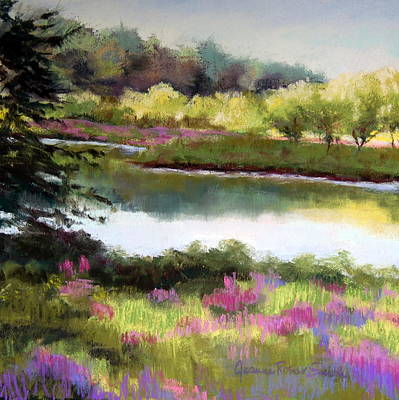 Sudbury River Print by Jeanne Rosier Smith