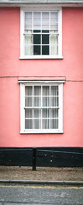 Window Wall Art - Photograph - Suffolk Pink by Tom Gowanlock