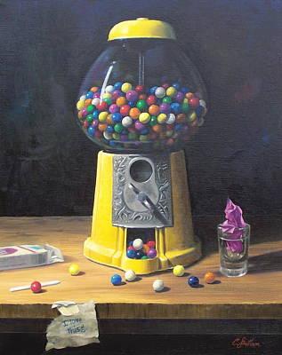 Painting - Sugar And Vice by Craig Shillam