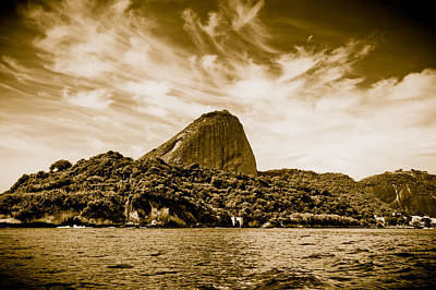 Photograph - Sugar Loaf Mountain From Sea by Celso Diniz