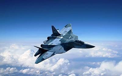 Pak Fa Photograph - Sukhoi T 50 Stealth Fighter by L Brown