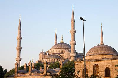 Sultanahmet Camii Photograph - Sultan Ahmet Mosque In Istanbul by Artur Bogacki