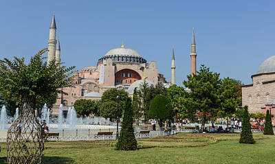 Photograph - Sultanahmet Square by Brandon Bourdages