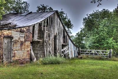Photograph - Summer Barn by Lisa Moore