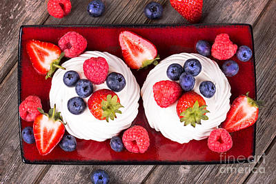 Strawberry Photograph - Summer Fruit Platter by Jane Rix