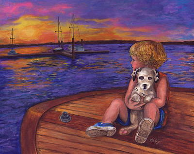 Painting - Best Friends Forever by Kathleen Kelly Thompson