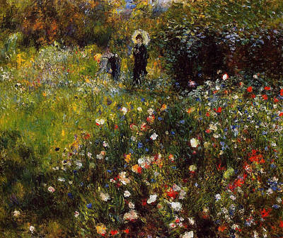 Summer Landscape Art Print by Pierre Auguste  Renoir