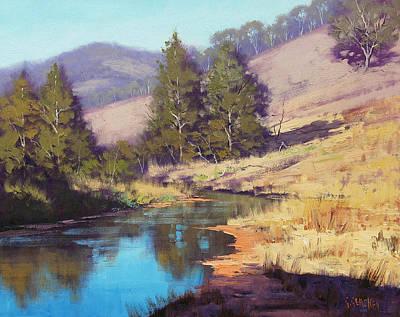 Summer River  Art Print by Graham Gercken