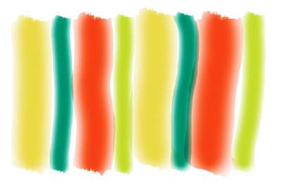 Wrap Digital Art - Summer Sizzle by Bonnie Bruno