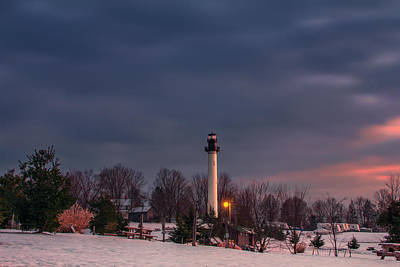 Photograph - Summersville Lake Lighthouse by Mary Almond