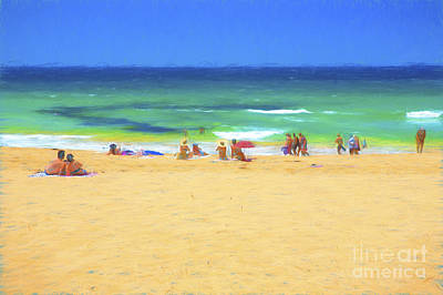 Summertime Art Print by Avalon Fine Art Photography