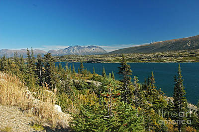 Photograph - Summit Lake Skagway Ak by Cindy Murphy - NightVisions