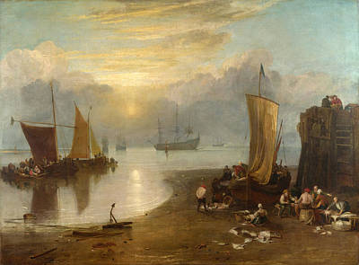 Sun Rising Through Vapour Painting - Sun Rising Through Vapour by Joseph Mallord William Turner