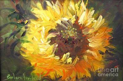 Painting - Sunflower by Barbara Haviland