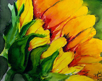 Painting - Sunflower by Shelley Bain