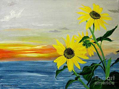 Elisabetta Artusi Painting - Sunflowers by Betta Artusi