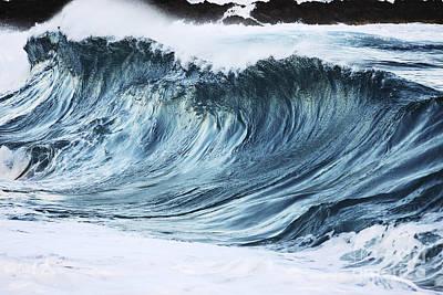 Sunlit Wave Art Print by Vince Cavataio