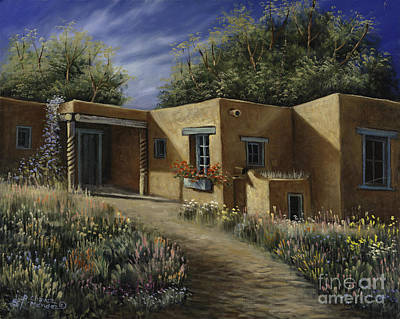 Treasured Painting - Sunny Day by Ricardo Chavez-Mendez