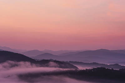 Sunrise As Seen From The Overlook Art Print by Tom Patrick