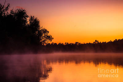 Photograph - Sunrise At Clear Creek by Larry McMahon
