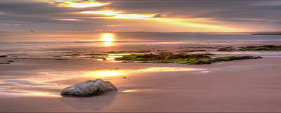 Sunrise At Nairn Beach Art Print