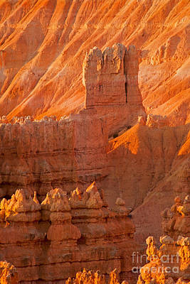 Sunrise At Sunset Point Bryce Canyon National Park Art Print