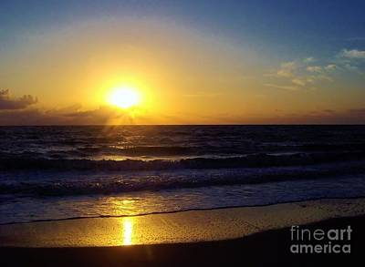 Photograph - Sunrise - Florida - Beach by D Hackett