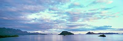 Sunrise At The Islands Of Loreto Art Print