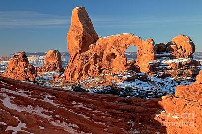 Photograph - Sunrise At Turret Arch by Adam Jewell