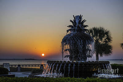 Photograph - Sunrise At Waterfront Park by Dale Powell