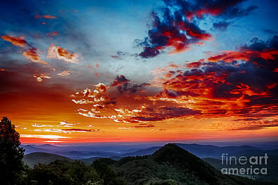 Sunrise Blue Ridge Parkway Art Print by Thomas R Fletcher